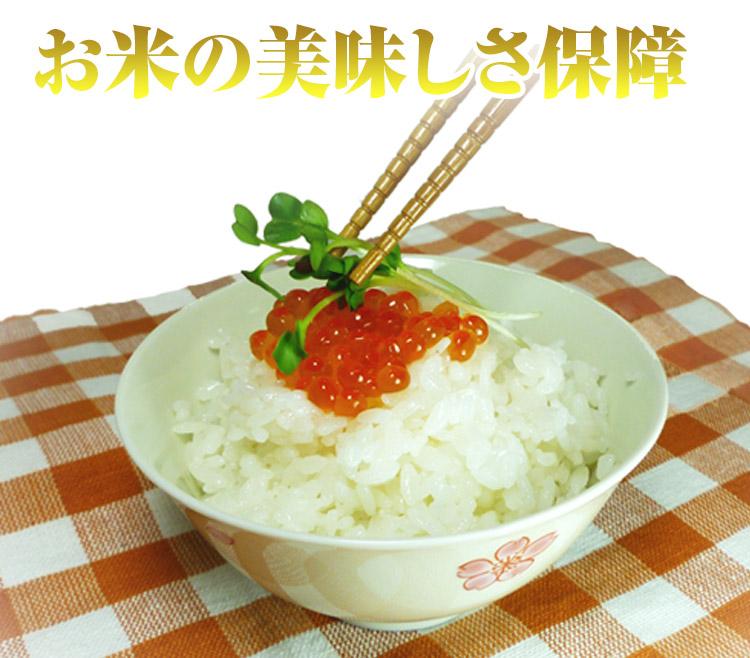 美米屋のこだわり 絶対おいしい 白くて かおる 米
